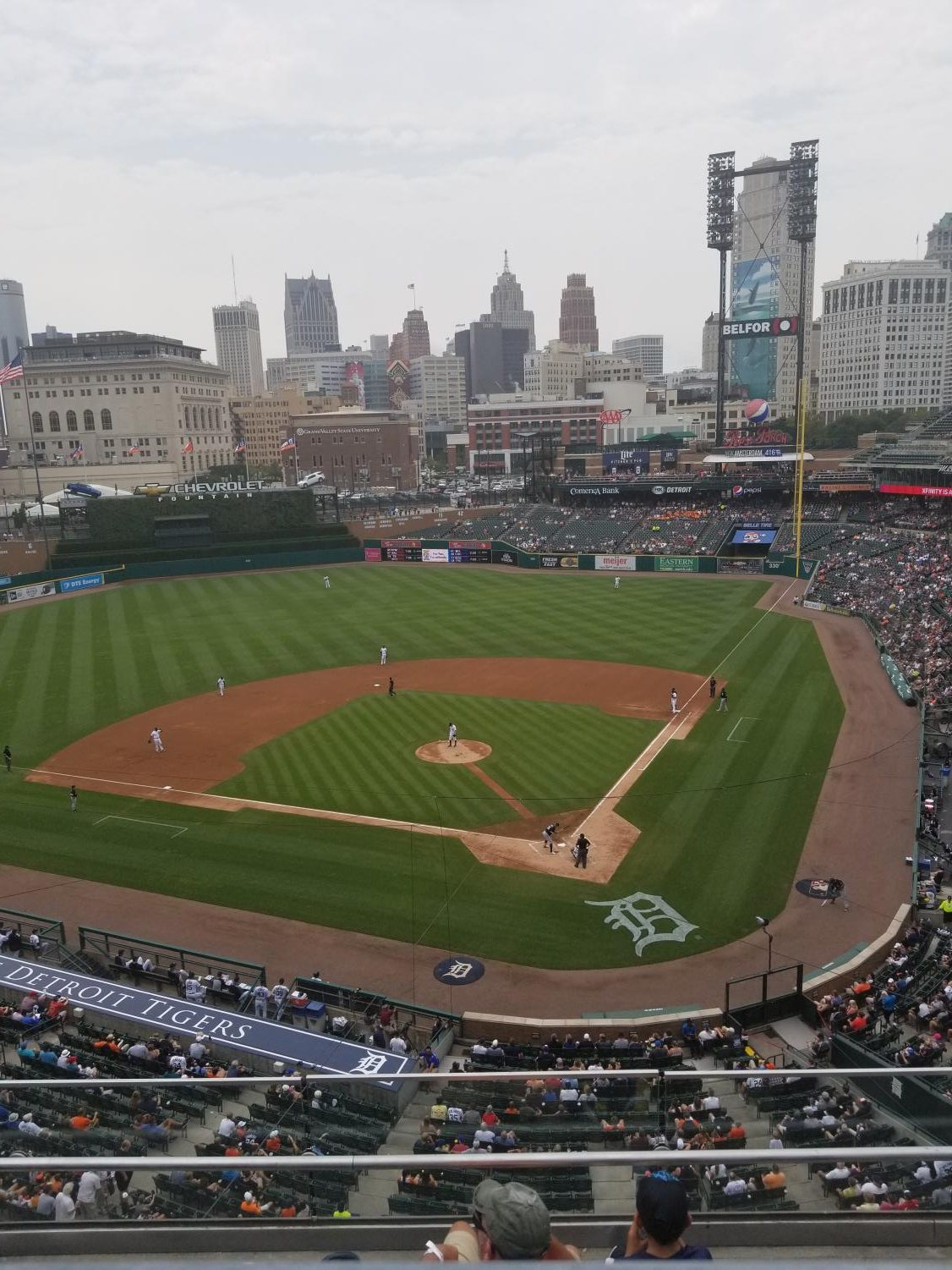 Cheap Fun Options at Comerica Park