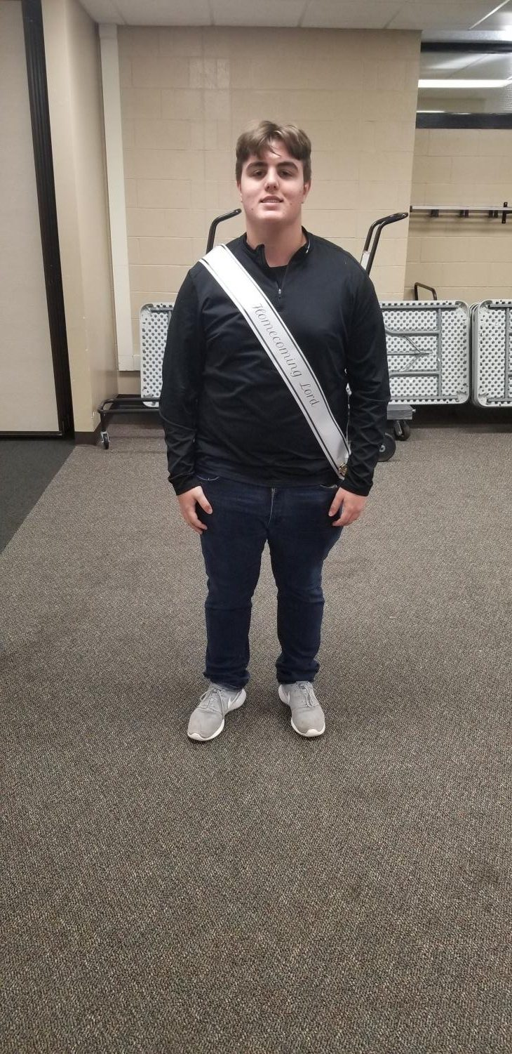 Homecoming Court: Anthony Kuchenmeister
