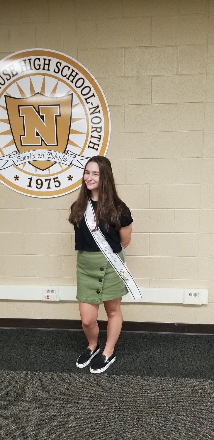 Homecoming Court: Ashley Delie