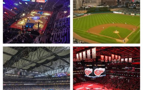 All four major sports in downtown Detroit. There has never been a Detroit Sports Equinox.