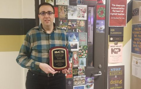 Mr. Kroll Earns State Award and What it Means to Him