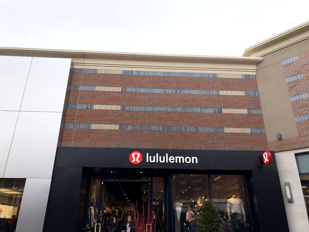 The Lululemon store at Partridge Creek Mall.