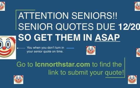ATTENTION ALL SENIORS!