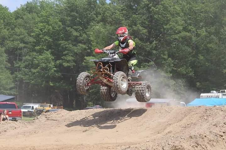 Crazy Crash on the MX Track
