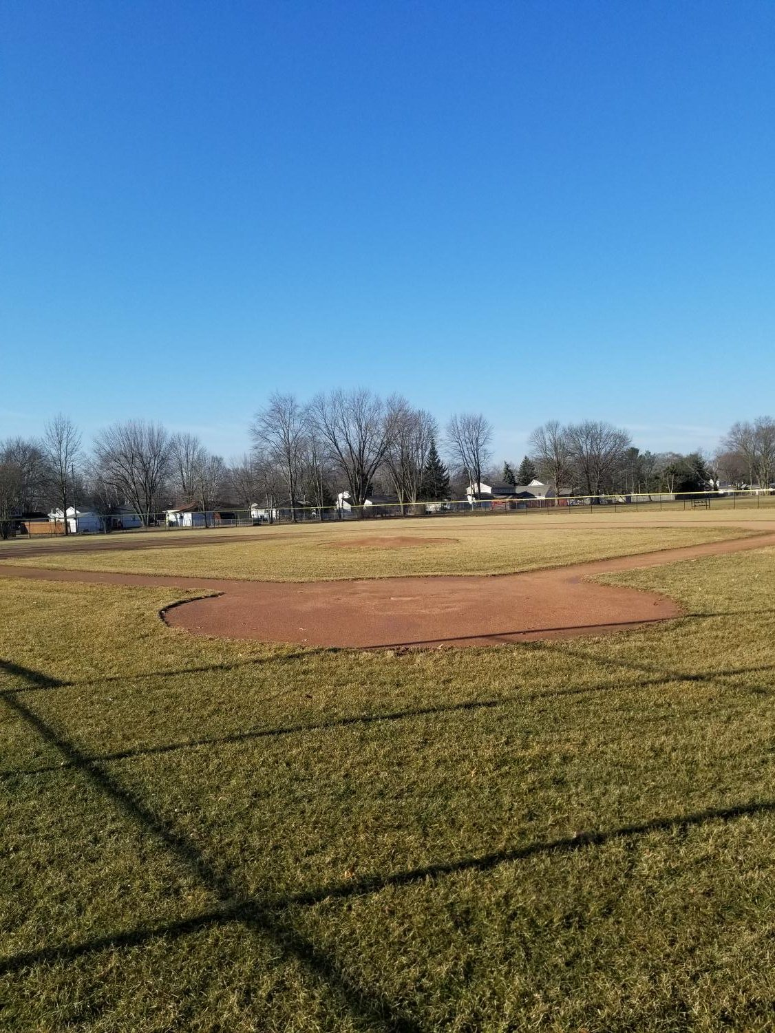 The varsity LCN baseball diamond sits empty as the MHSAA spring sports season appears to be coming to an abrupt end.