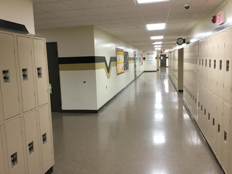The hallways of L