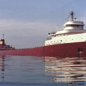 This the famous Edmund Fitzgerald from 1975 on St Marys River.