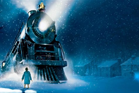 The Polar Express is a train that picks up kids to take them to the North Pole to meet Santa Clause. Photo credit: