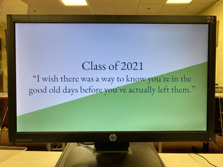 Class quote and colors!