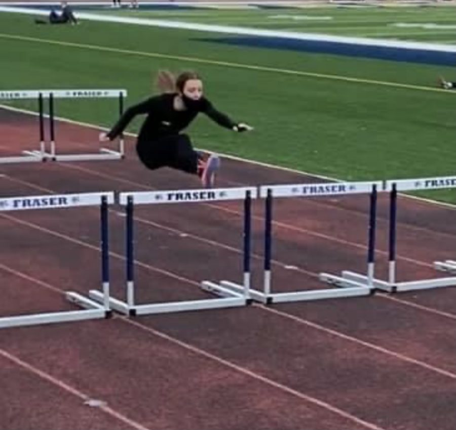 Grace Collett Hurdles Her Way to a New School Record