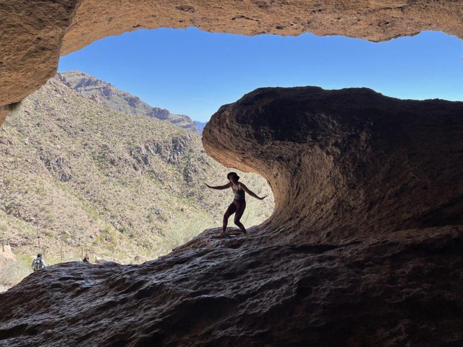 The Wave Cave trail, Superstition Mountains, AZ