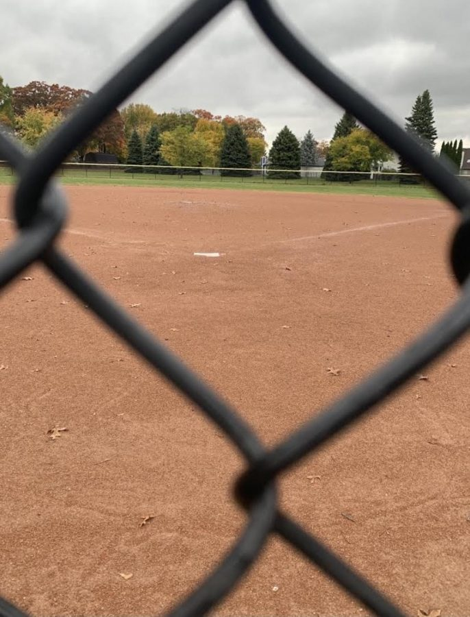 Softball field at LCN.